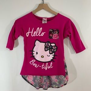 Hello Kitty Top size 10/12